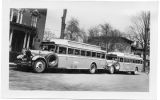Chartered buses for tour, Ithaca, NY.