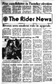 Rider news / published by the students of Rider College, 04/1979 issues.