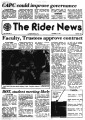 Rider news / published by the students of Rider College, 10/1979 issues.